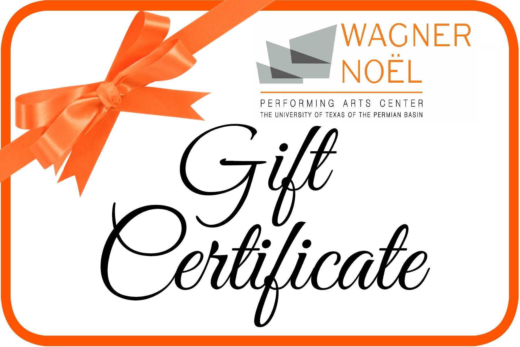 Image for Wagner Noël Gift Certificate - 2019