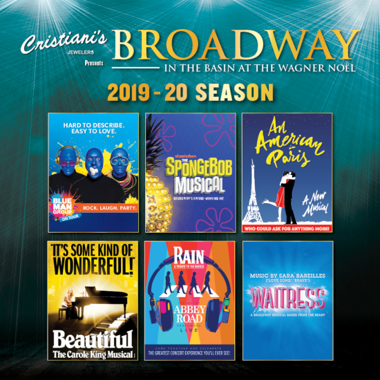 Image for 6 SHOW PACKAGE BROADWAY IN THE BASIN 2019-2020 SUBSCRIPTION
